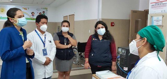 Recorrieron los hospitales Básico Yantzaza y Julius Doepfner, en la provincia de Zamora Chinchipe
