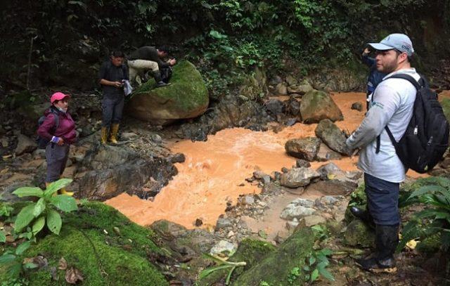 El 13 de octubre de 2020 se desarrolló un recorrido por el río Bombuscaro