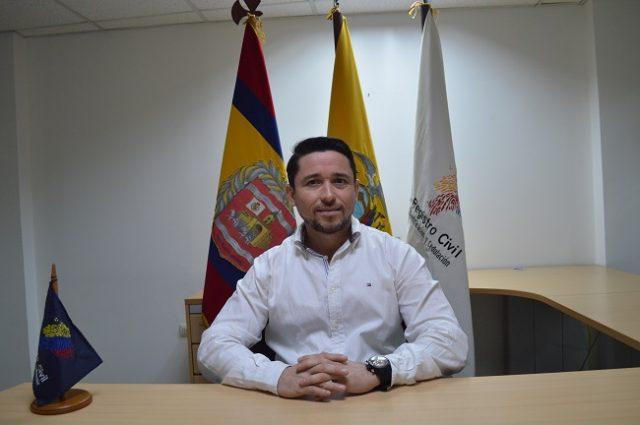 Freddy Salvador Tomaselli es el nuevo Coordinador de la zona 7 del Registro Civil de la Zona 7