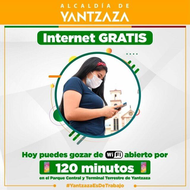 Son 120 minutos los que se podrán gozar de internet libre