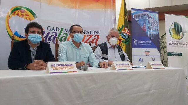 la empresa presta servicios eléctricos en tres provincias: El Oro, Loja, Zamora Chinchipe, y el cantón Gualaquiza de Morona Santiago.