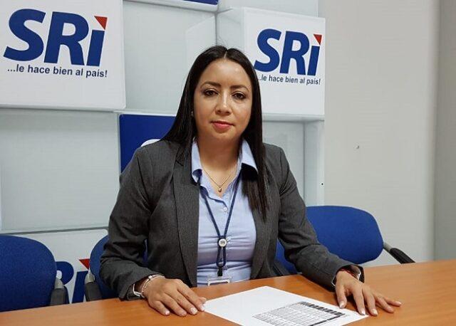 Guadalupe Macas, directora provincial del SRI.